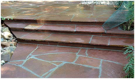 Photos of Stamped Concrete in Denver